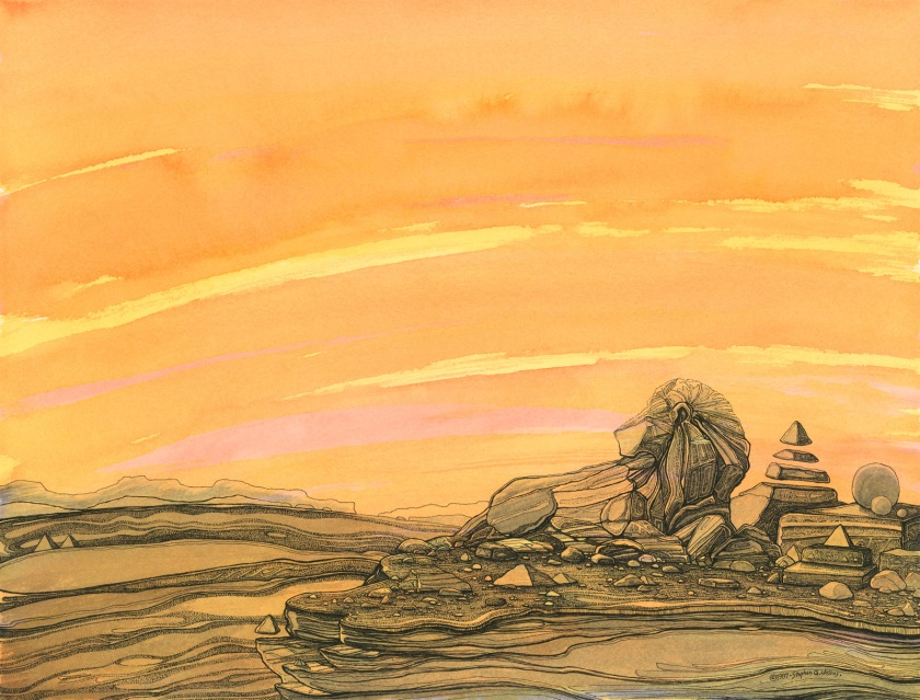 Aslan on the Rock